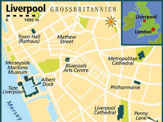 Liverpool Spuren der Beatles Reise