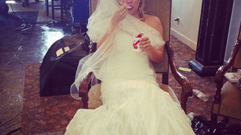 Big Bang Theory, Kaley Cuoco, Hochzeit