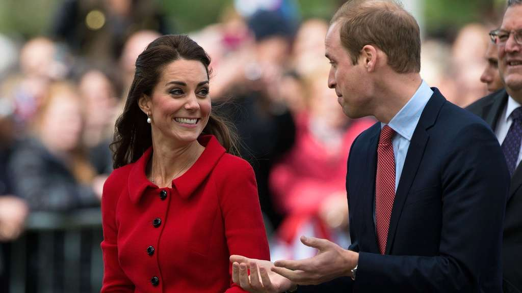 Kate und William in Neuseeland
