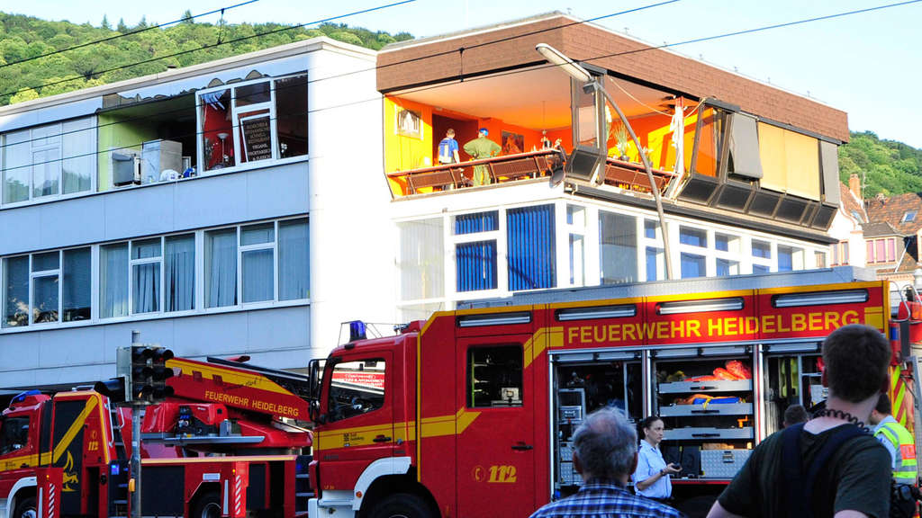 Explosion in Heidelberger Restaurant