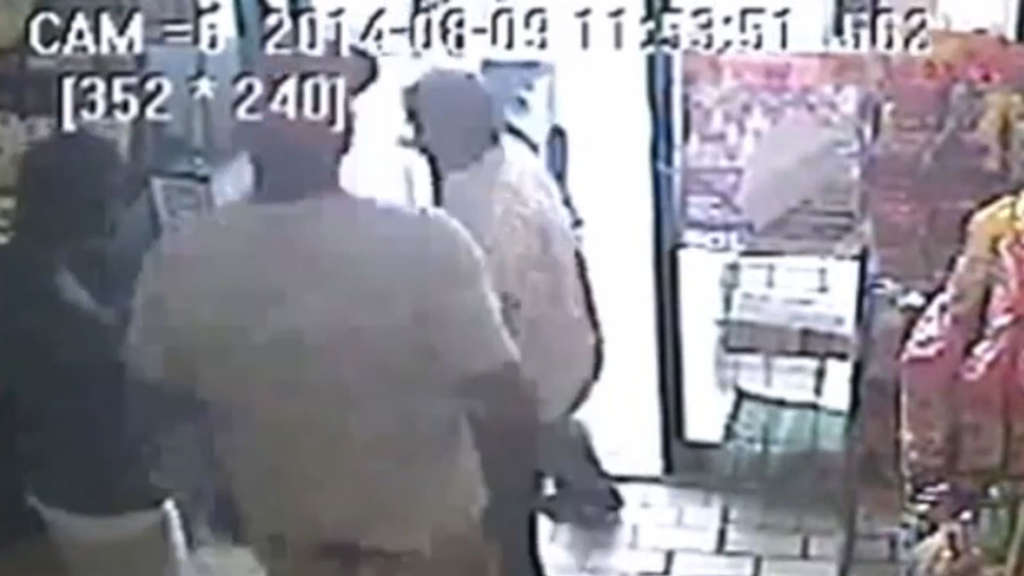 Michael Brown, Video, Ferguson
