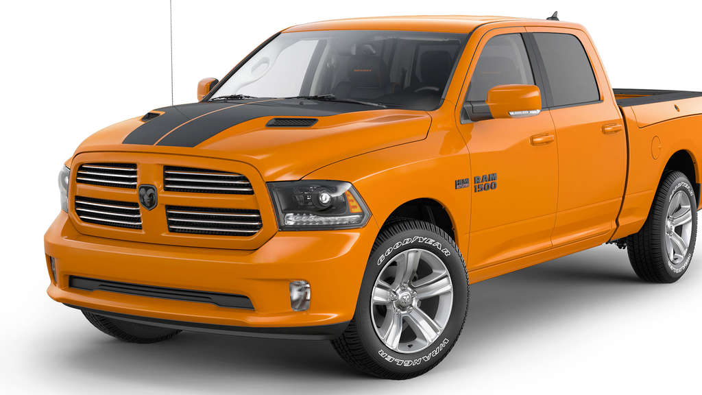 Ram 1500 Ignition Orange Sport
