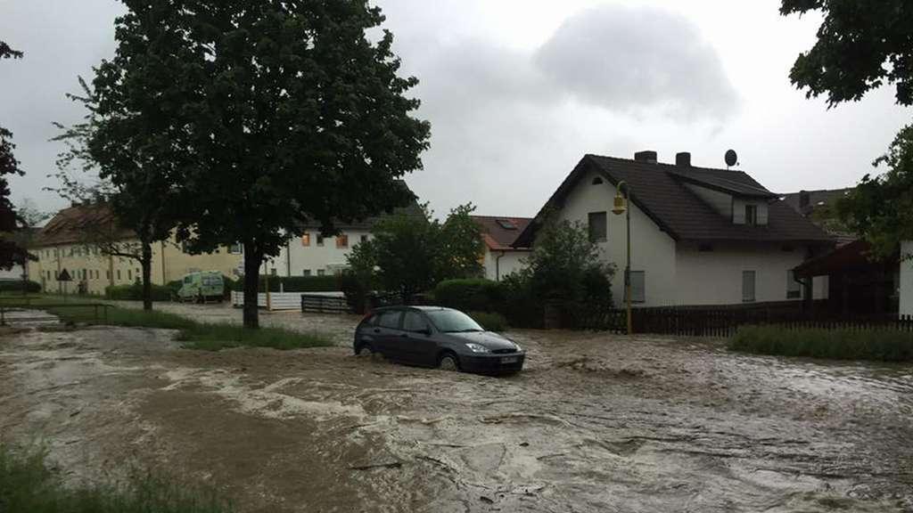 Weilheim Hochwasser
