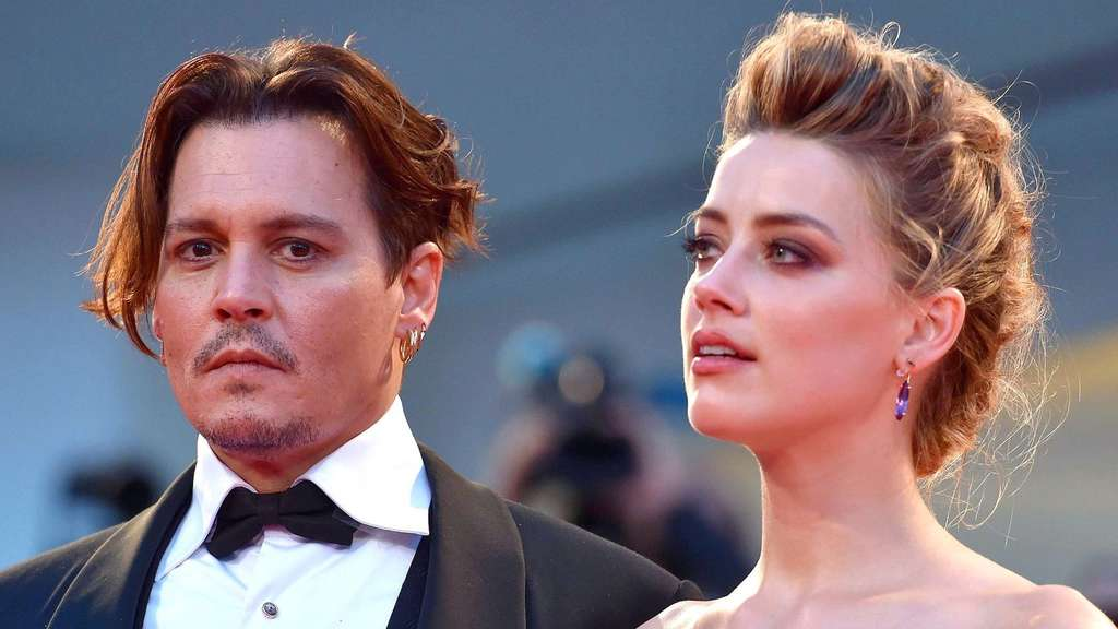 Amber Heard und Johnny Depp.
