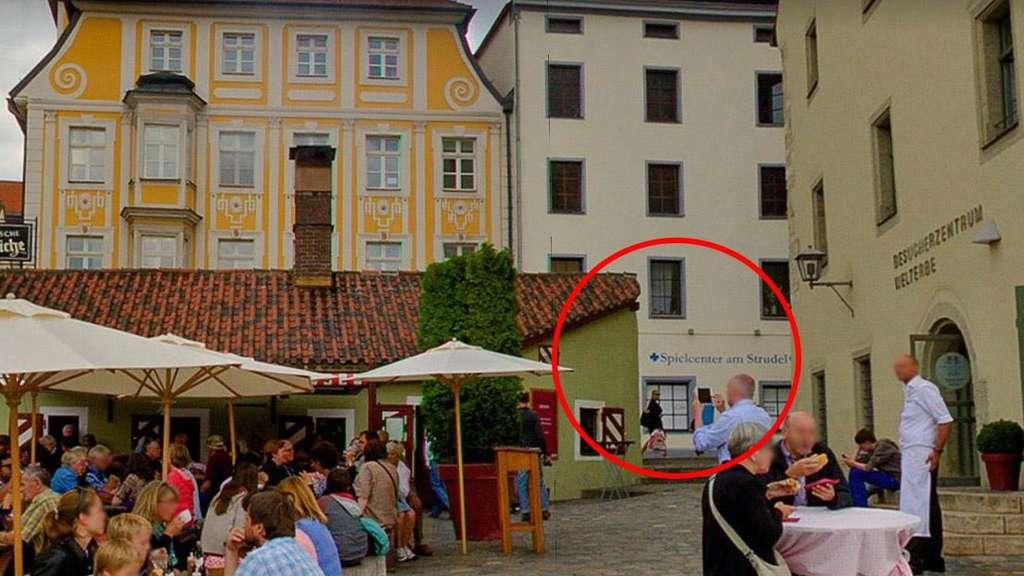 Großeinsatz in Regensburger Innenstadt: Überfall in Regensburg
