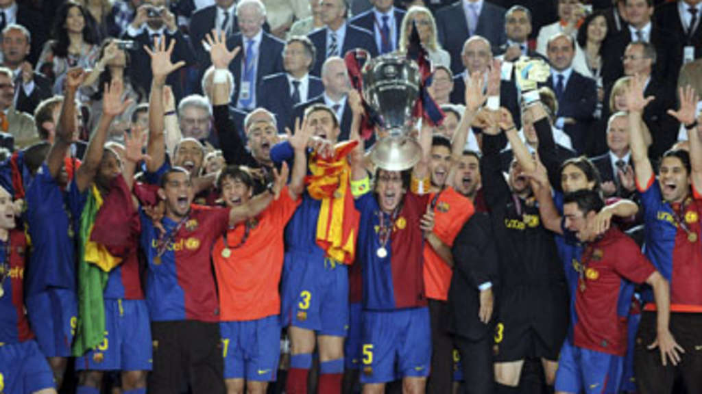 Barcelona ist Champions-League-Meister