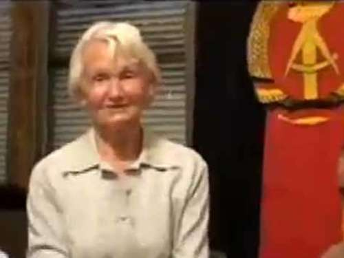 Irres Video: Margot Honecker lästert über die BRD