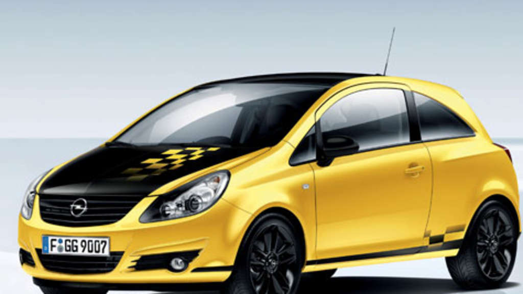 Opel Corsa Color Race Modell 2010