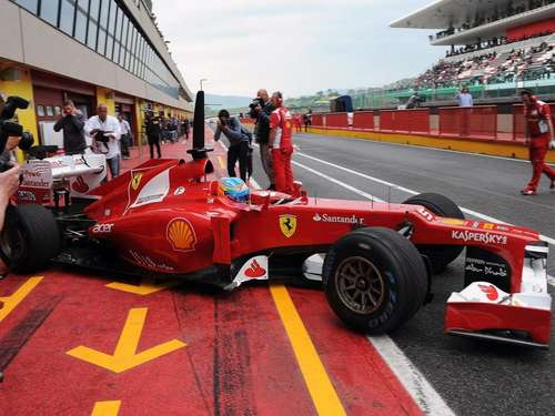 F1-Tests in Mugello: Alonso und das rote Elend