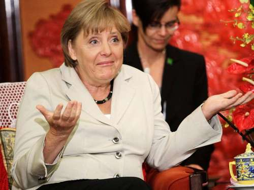 Merkels China-Reise in Bildern