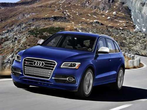 Power SUV - Audi SQ5 als Benziner