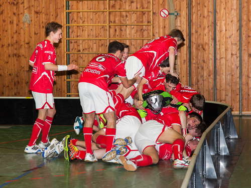 Die Red Hocks Kaufering sind Floorball-Meister!