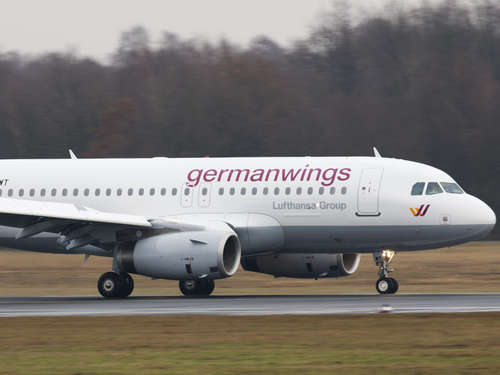 Germanwings-Maschine mit Bremsproblem