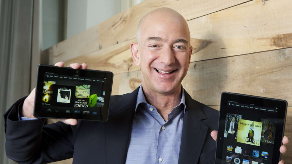 Kindle, Amazon, Jeff Bezos, Coin