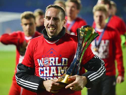 Ribéry: Alle Top-Klubs wollten mich