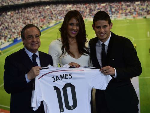 Real Madrid verpflichtet James Rodriguez