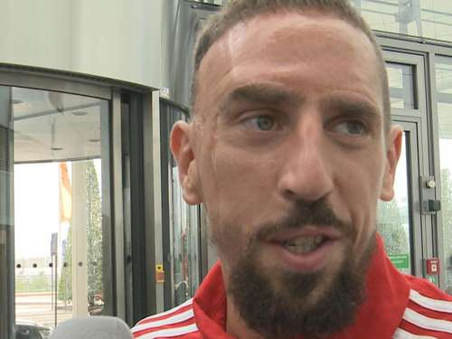 Franck Ribéry im Interview vor US-Tour