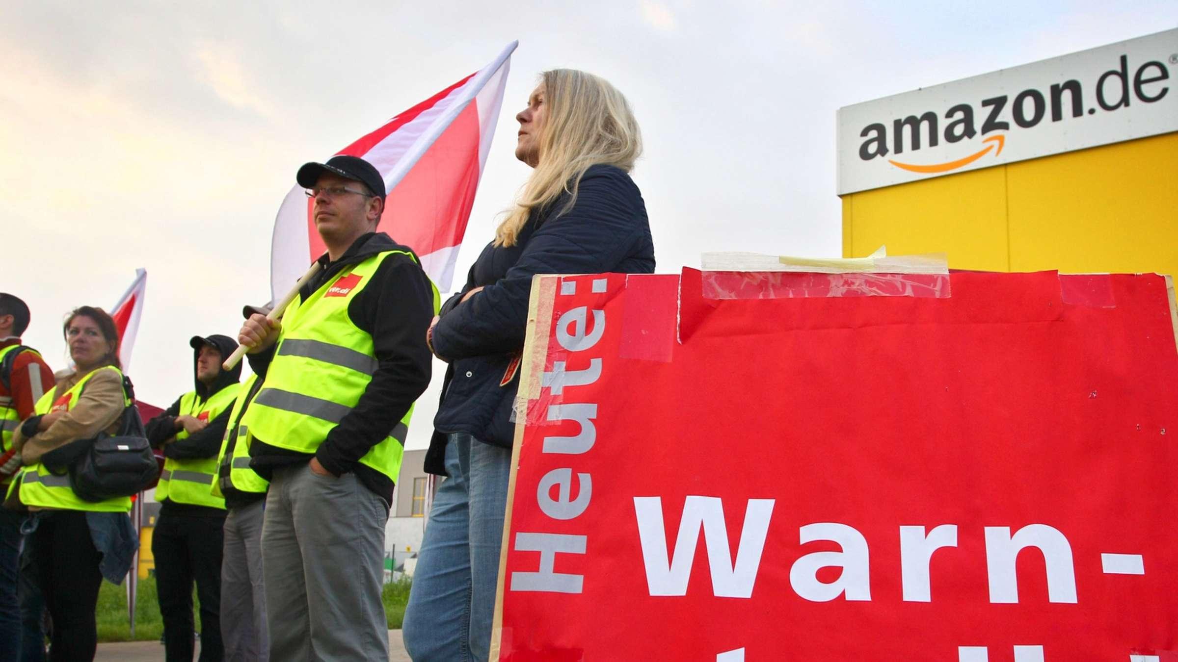 Streiks bei Amazon haben begonnen   WIRTSCHAFT