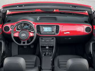 VW Beetle Cabrio Cockpit