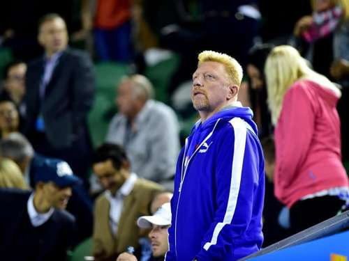 Boris Becker applaudiert in Melbourne starkem Djokovic