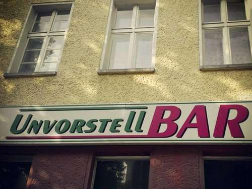 Die kuriosesten Bar-Namen