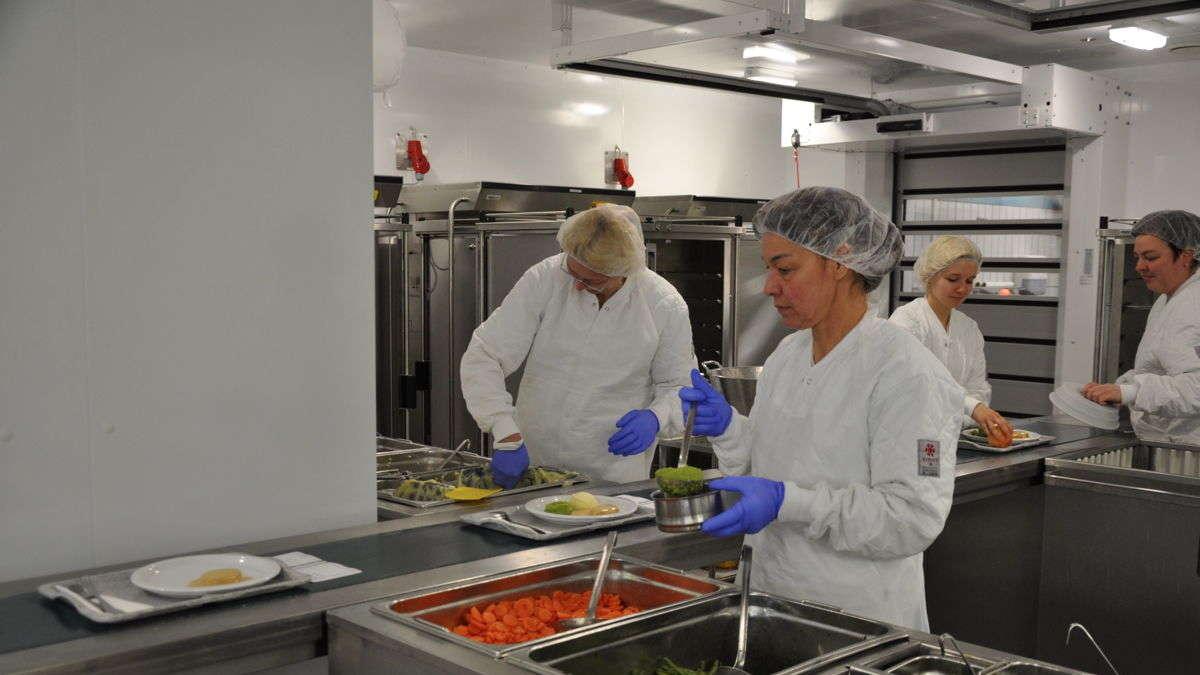 Neue Zentralküche am Schongauer Krankenhaus in Betrieb | Schongau