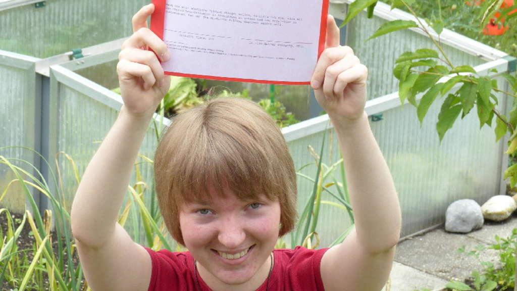 Elisabeth Keller Legt 10 Abitur Hin Gastschülerin In Schongau