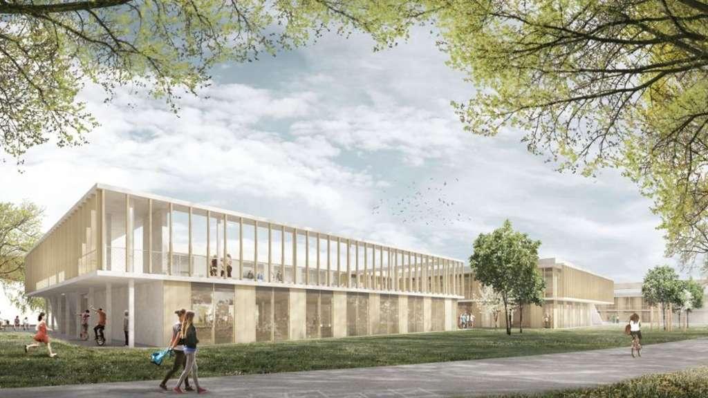 Grundschul Neubau Wird Teurer Kosten Steigen Um Eine Million Euro