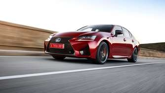 Lexus GS F: Luxuslimousine auf Speed
