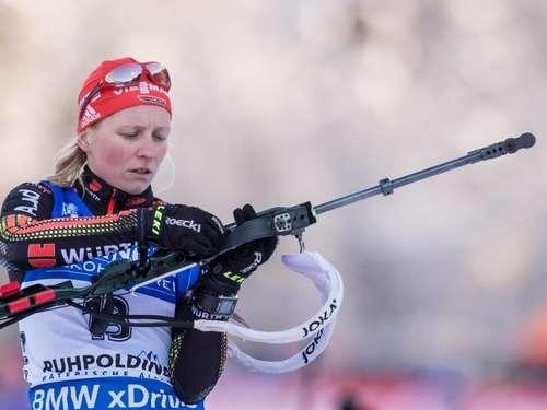 Biathletin Hildebrand vor Sprint optimistisch