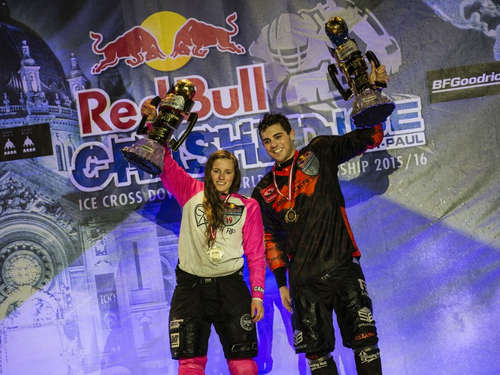 US-Amerikaner Naasz holt WM-Titel in Ice Cross Downhill