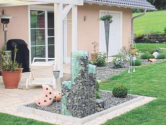 Baufamilie staltmeier baut ihr drittes haus baufamilie for Garten pflegeleicht angelegt