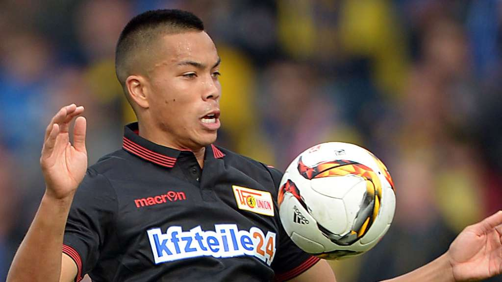 Union Berlins Bobby Wood.