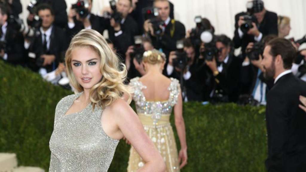 Kate Upton beim Met Ball in New York. Foto: Justin Lane