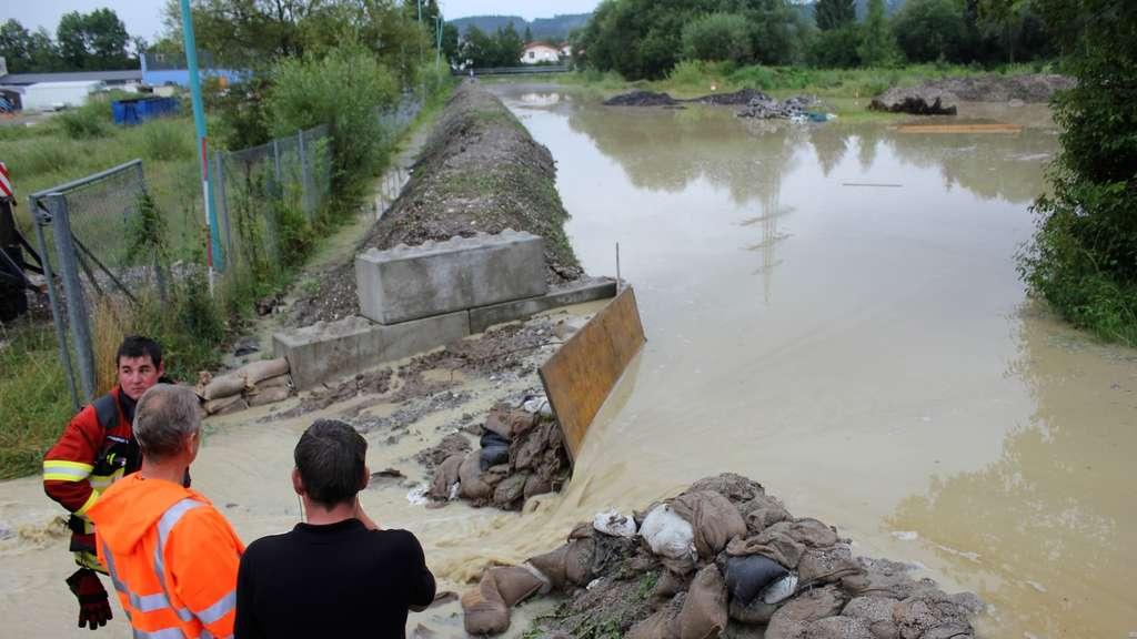 Hochwasser Peissenberg