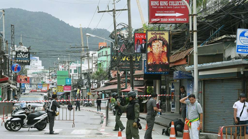 Series of bomb attacks in Patong beach area of Phuket
