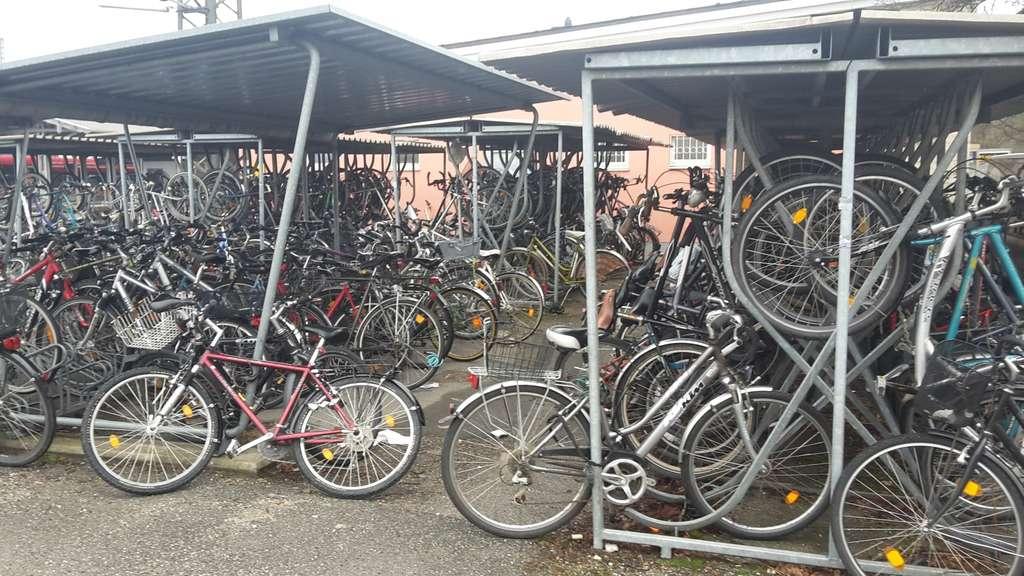 Fahrradstander Am Weilheimer Bahnhof Weilheim
