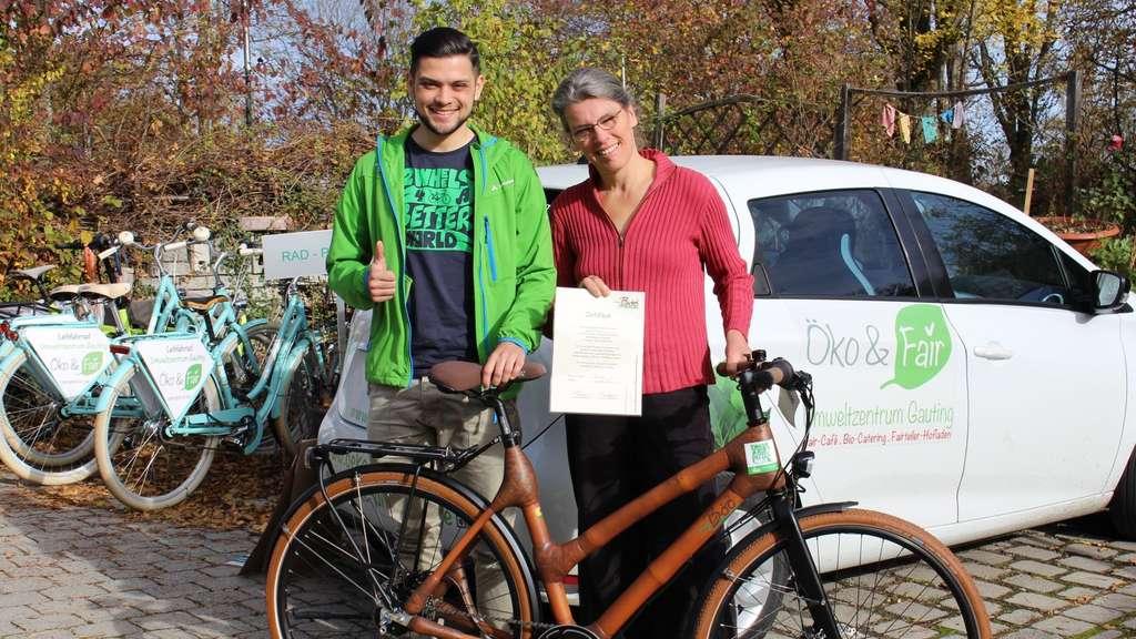 My Boo Bambusrahmen Umweltzentrum Gauting Lust Fahrrad Starnberg