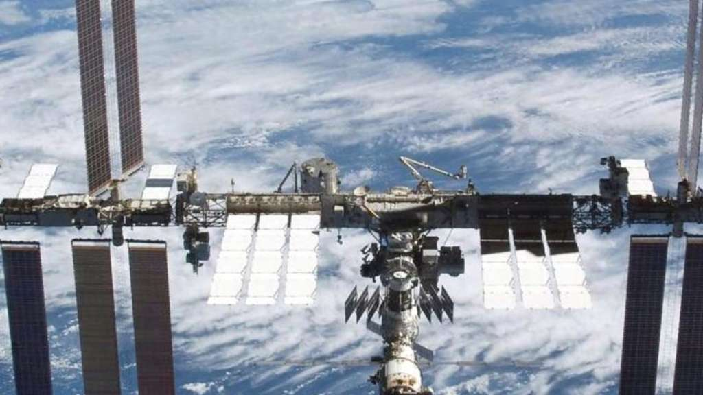 Die Internationale Raumstation ISS. Foto: NASA