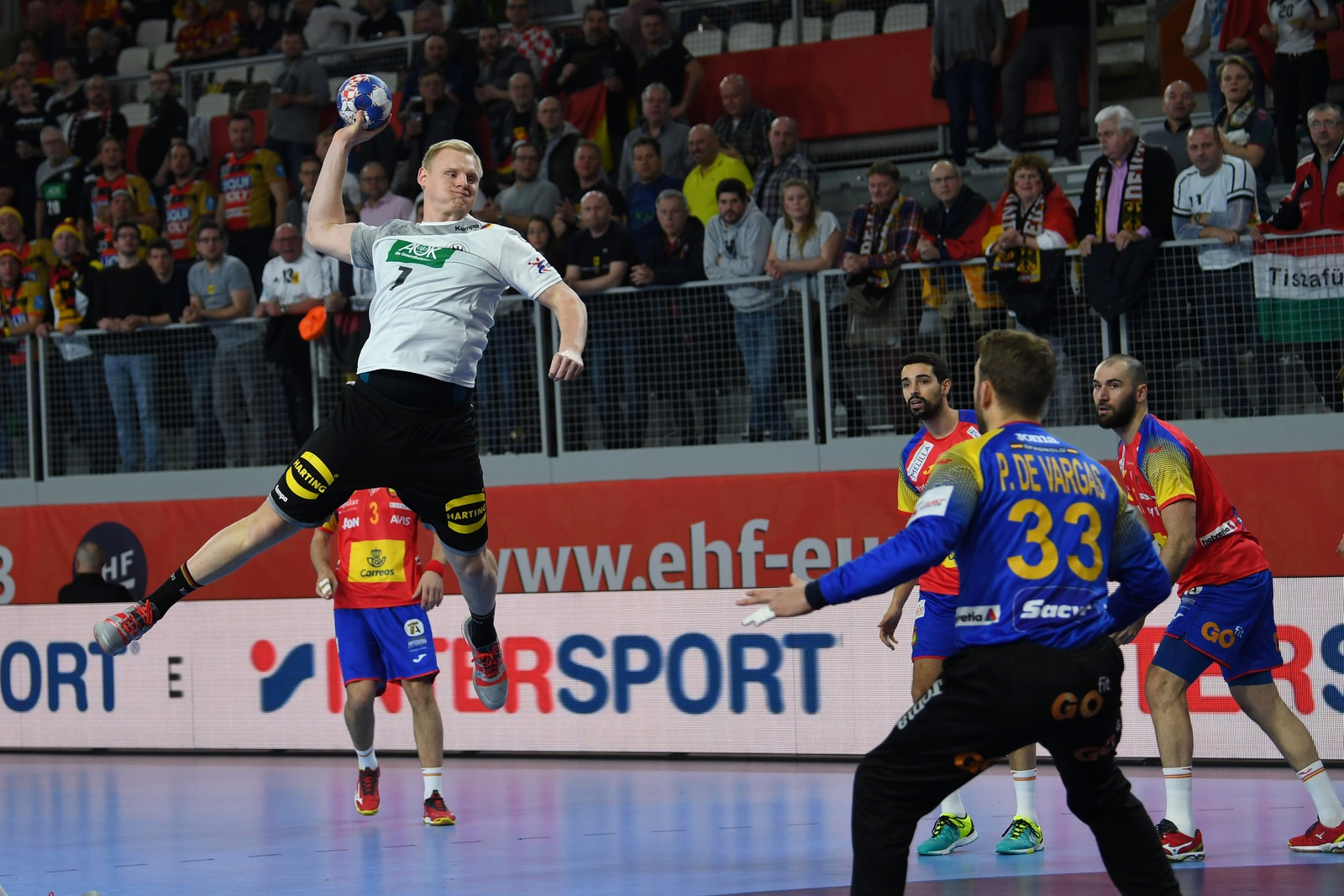 deutschland gegen spanien handball