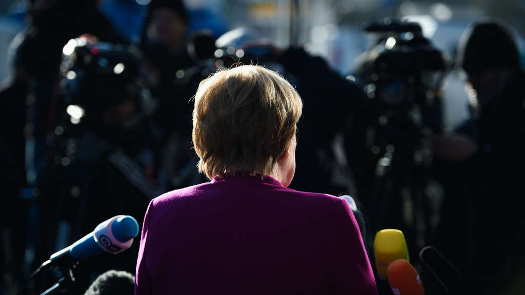 In der Kritik: Angela Merkel.