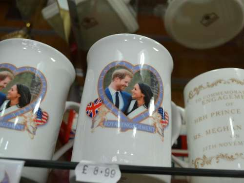 "Wie Touristen zur ""Royal Wedding"" nach Windsor kommen"