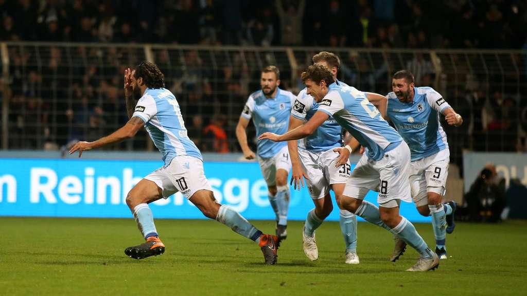 Würzburger Kickers Gegen 1860 München