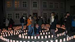 Reger Andrang beim Candle-Light-Shopping