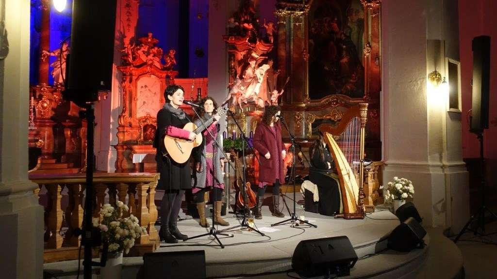 Vivid Curls übertreffen in der Sankt-Georgs-Kirche alle Erwartungen ...