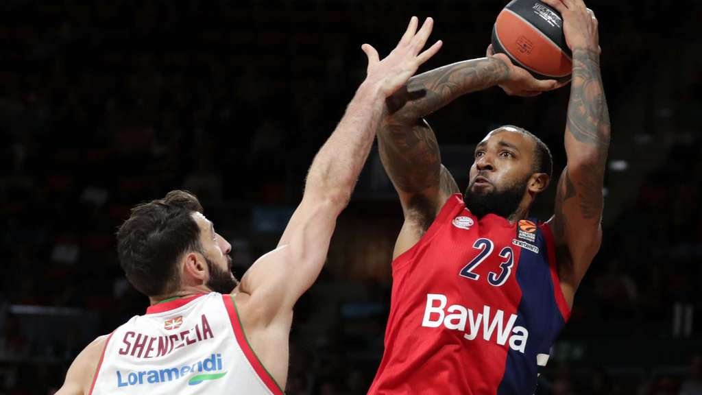 Basketball Euroleague FC Bayern Basketball vs Vitoria Gasteiz