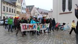 Fridays for Future Demo Weilheim