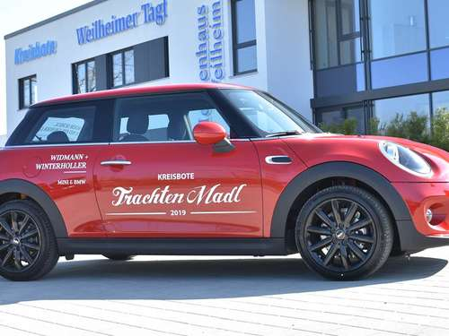 Hauptpreis beim #KBTM2019: MINI One in Chili Red