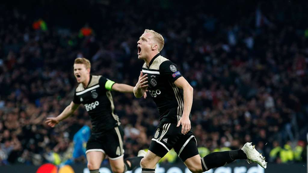 Jubelt Donny Van de Beek bald für Real Madrid?