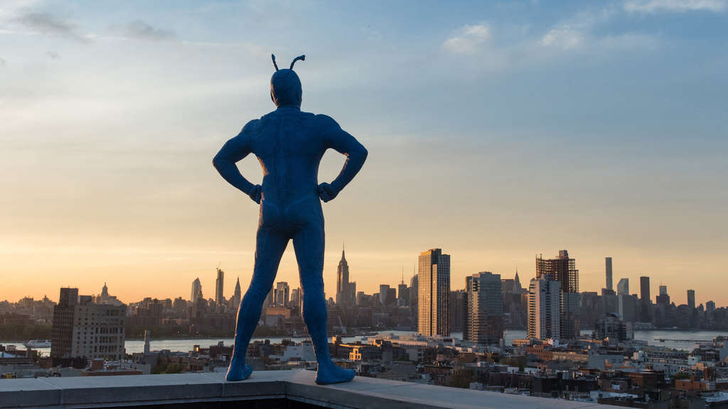 Zweite Staffel des Prime Originals The Tick